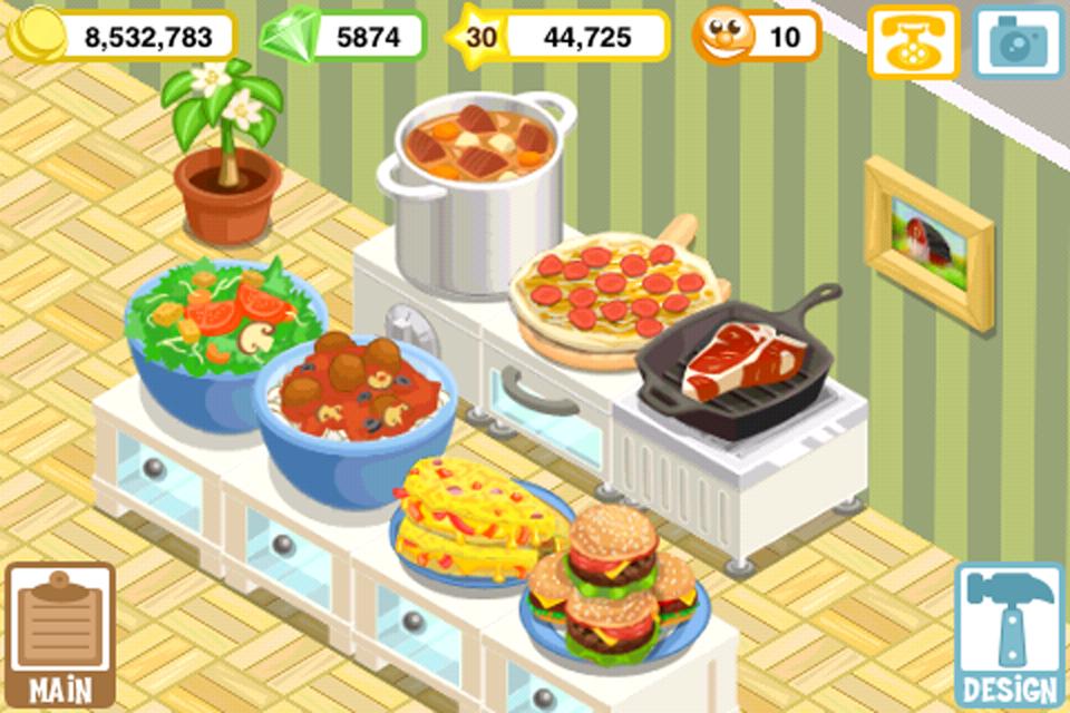 Top Restaurant Games Online