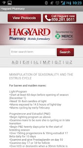Hagyard Mobile Formulary screenshot 3