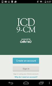 ICD-9-CM screenshot 0