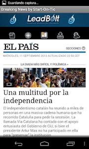 Breaking News Noticias España screenshot 5