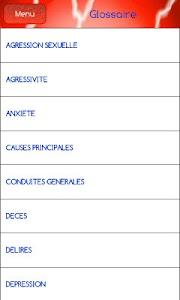 Urgences Psychologiques screenshot 2