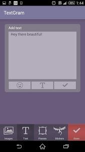 Textgram - Text on Pics screenshot 1
