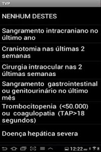 Profilaxia de trombose venosa screenshot 2