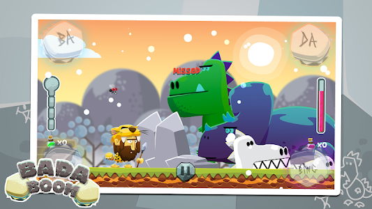 Badaboom - Rhythm Dinos Game screenshot 1