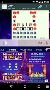 Sport Art - Emoji Keyboard🎿🎿 screenshot 2