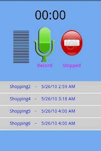 Quick Voice Recorder screenshot 1