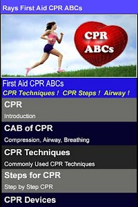 Rays First Aid CPR ABCs screenshot 0