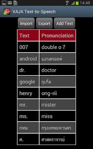 VAJA Text-to-Speech Engine screenshot 1