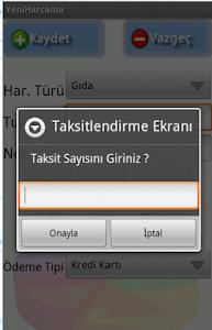 Gelir Gider Takibi screenshot 2