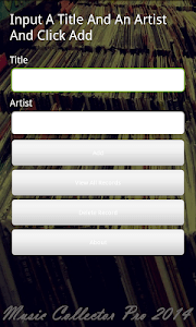 Music Collector Pro 2014 screenshot 0