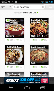 Vegetarian Recipes & Nutrition screenshot 1