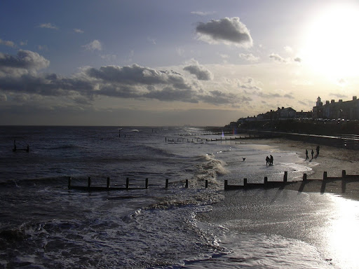 Southwold beach (January 2008)