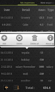 Expense Control + screenshot 4