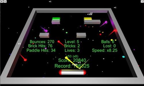Powerball Arcade (3D Arkanoid) screenshot 1