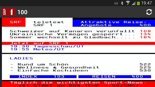 Swiss Teletext screenshot 5