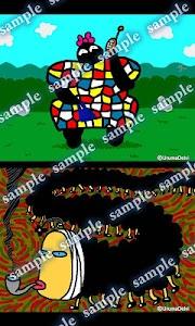 Daily Cartoon003 LWP & Clock screenshot 3