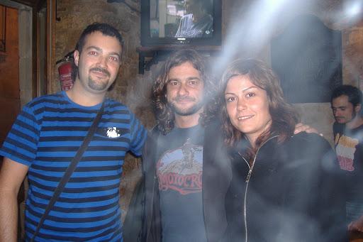 Laura y yo con Quique González