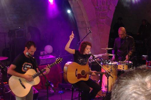 Actuación de Gastelo en el Festival Luna Lunera