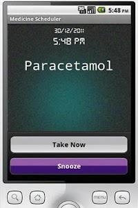 Medicine Scheduler screenshot 0