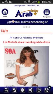 Arab Today screenshot 6