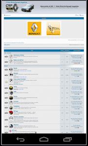 Club Renault Fuego Argentina screenshot 1