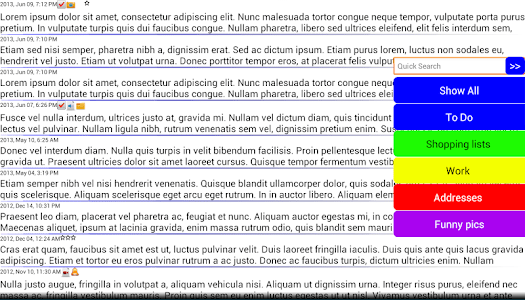 Journal Notes Multimedia screenshot 18