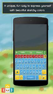 ai.type Sketch Colors Keyboard screenshot 0