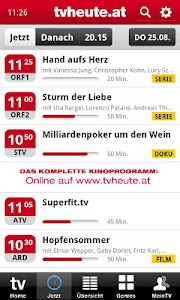 tvheute.at screenshot 2