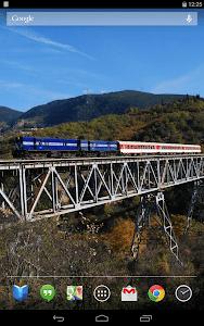 Trains on Bridges Wallpaper screenshot 6