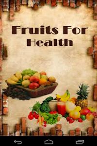 Fruits For Health screenshot 0