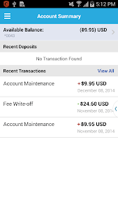 AchieveCard – Mobile Banking screenshot 1