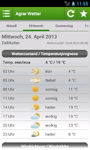 Agrar Wetter Schweiz screenshot 1