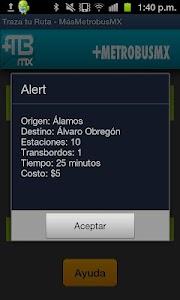 Metrobus MX screenshot 1