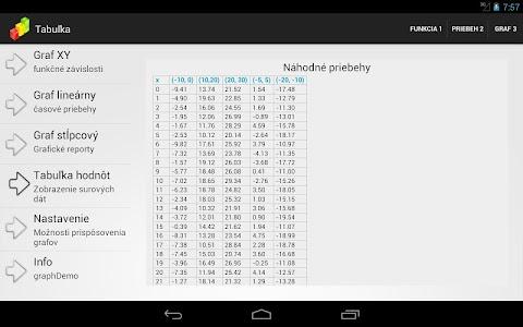 Graph demo screenshot 5