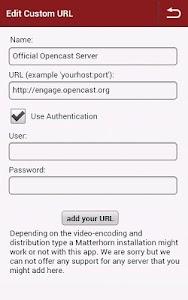 Opencast Matterhorn 2GO screenshot 6
