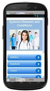 Dyslexia Disease & Symptoms screenshot 0