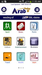 Arab Today mini screenshot 1