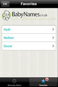 Baby Name Generator screenshot 3