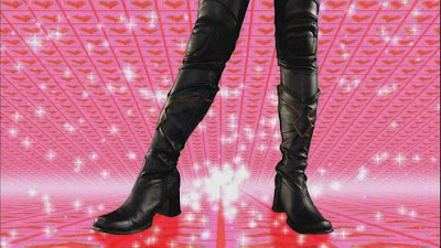 One of these days these boots are gonna walk all over you