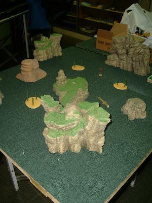Le canyon où a été arrêté Ned Buck