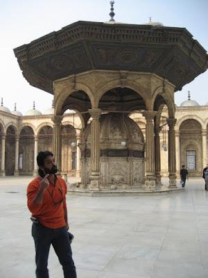 En la mezquita de Mohammed Ali