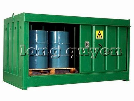Tủ sắt để bình khí và lỏng ngoài trời H