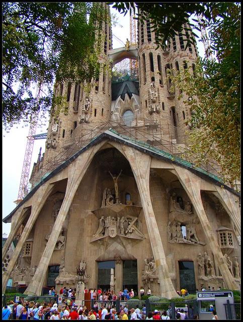 Barcelona. Sagrada Familia de Barcelona