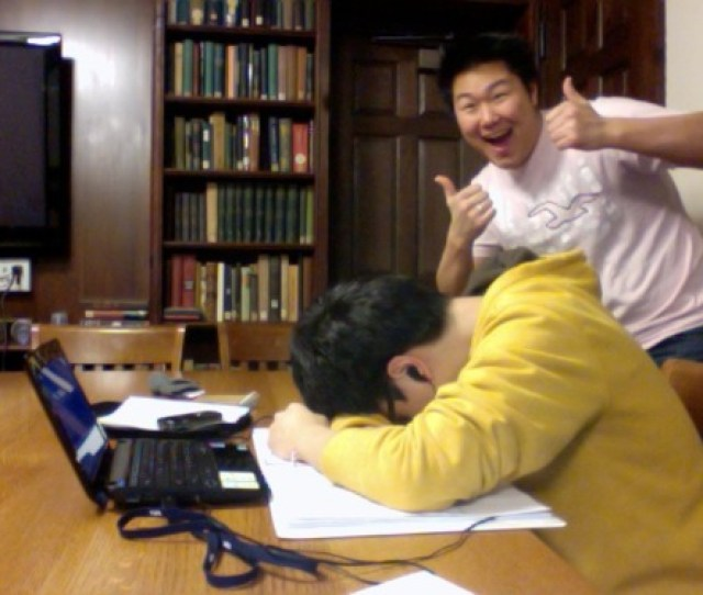 Asians Sleeping In The Library Is An Odd Photo Blog On Tumblr The Description Reads Theyre Better At Life And They Get Better Grades Than You For A