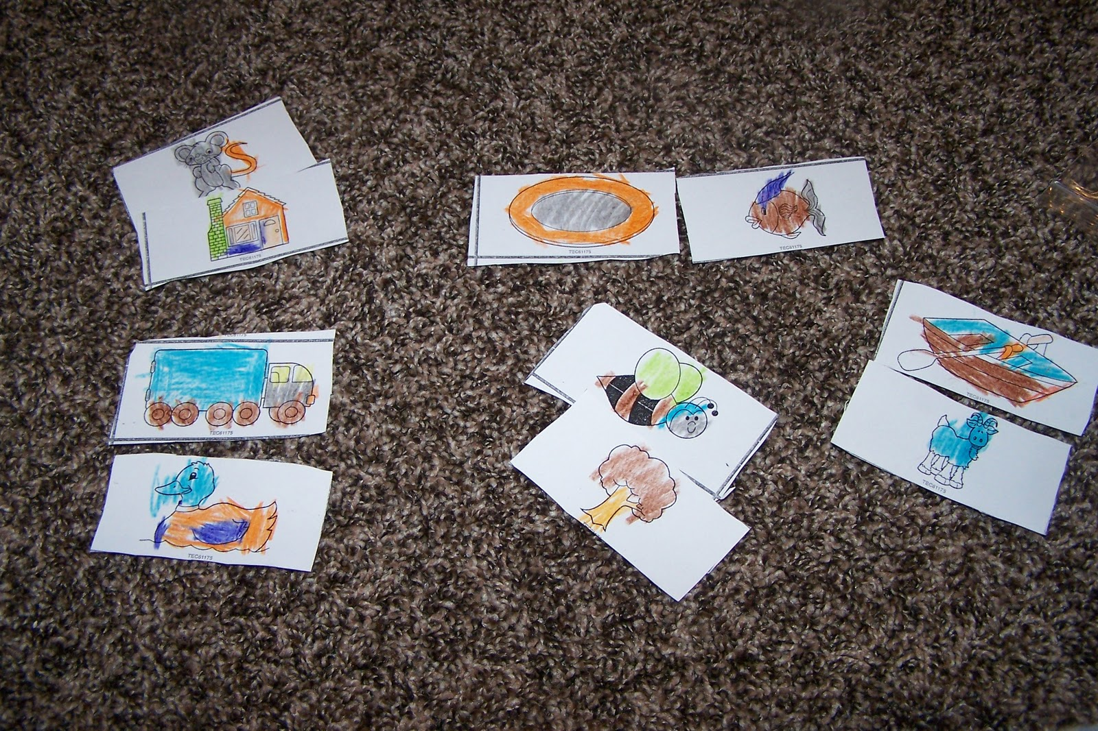 Children S Learning Activities Rhyming Cards