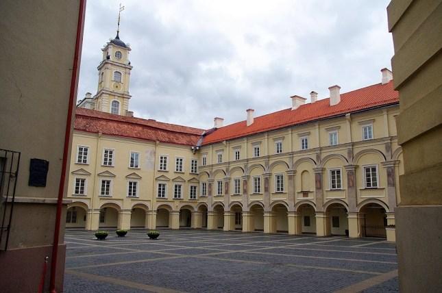 Qué ver en Vilna. Universidad de Vilna, Vilnius