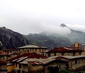 Idanre Orosun peak