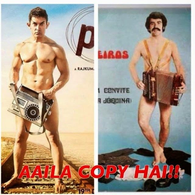 Top 10 Aamir Khan funny meme went viral from Movie PK (Peekay 2014) !!!  Whatsapp bollywood funny pic !!! Here how its started !!