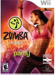 Dancing zumba for fitness