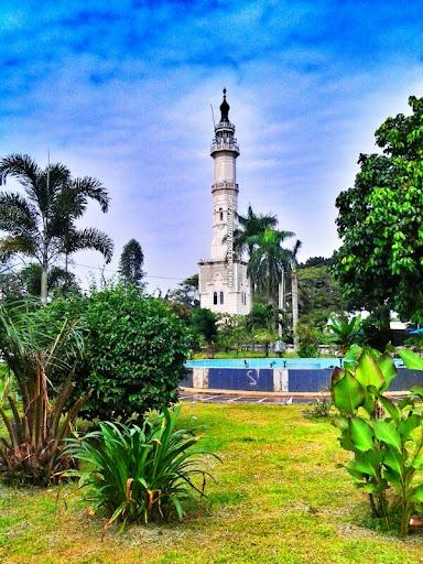 Menara Mesjid Raya Medan
